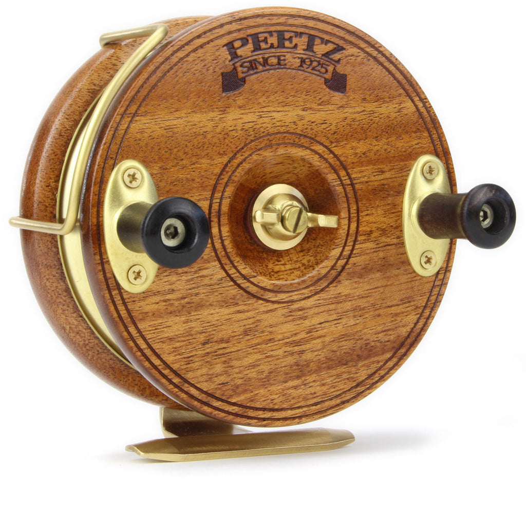 "5"" PEETZ Classic fishing reels are big enough to use for most sport fishing but light enough to keep it exciting."