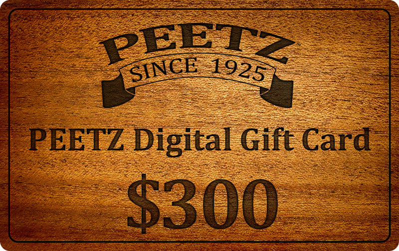 PEETZ Digital Gift Cards