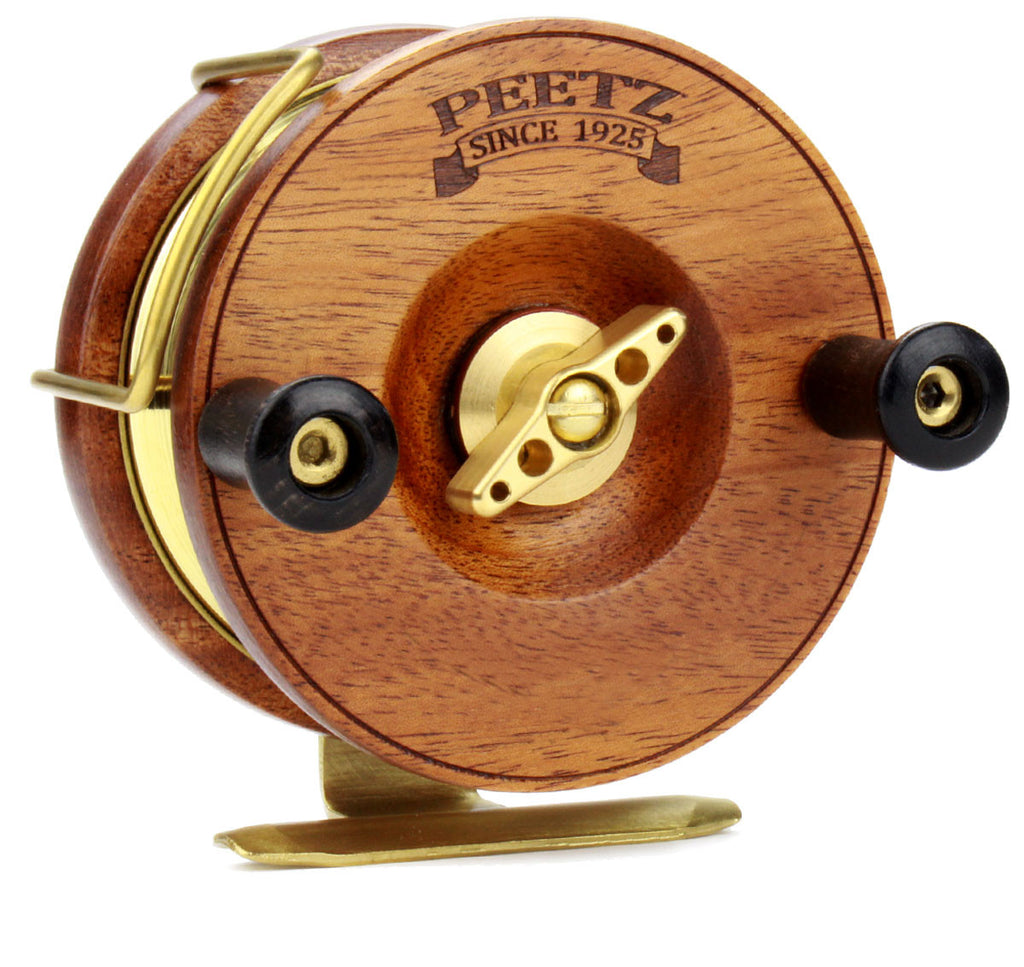 "4"" PEETZ Evolution reel with no artwork"