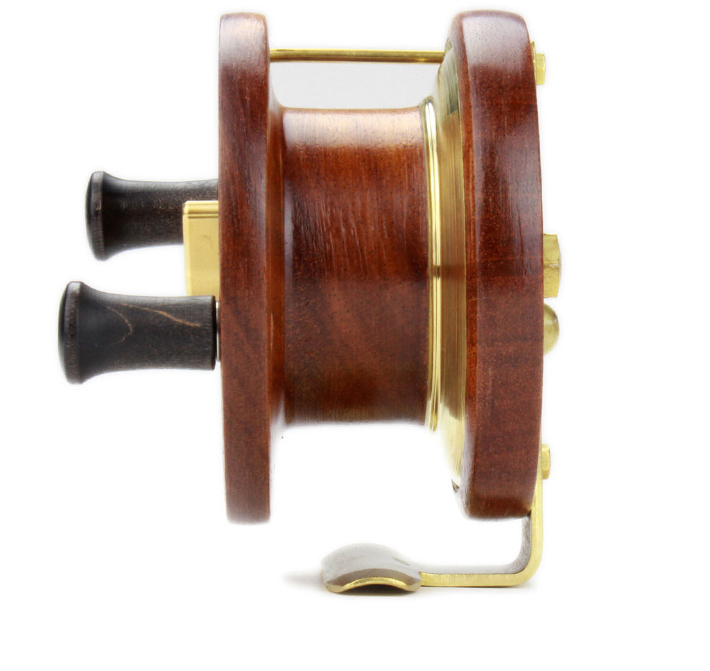 "Side of PEETZ 4"" Evolution Fishing Reel"
