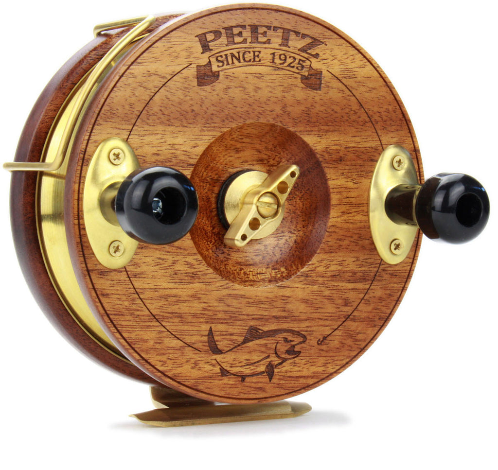 PEETZ Fishing Reels - Add Artwork to Your Reel Face