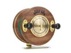 Fishing Desk Barometer Front