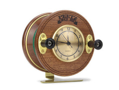 Fishing Reel Desck Clock Front