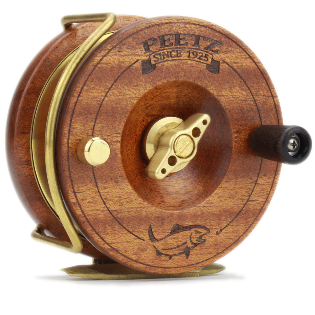"PEETZ 3.5"" Fly Reel with Engraved Artwork"