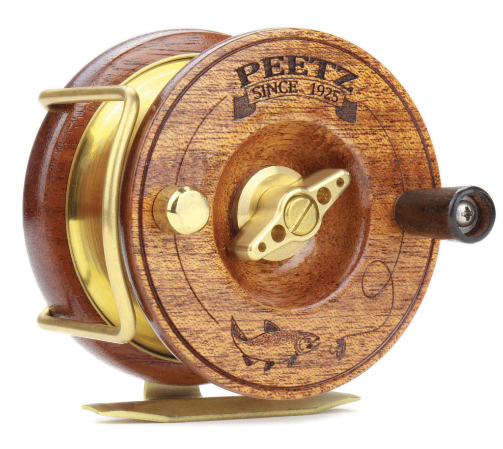 "PEETZ 3"" Fly Reel with Engraved Artwork"