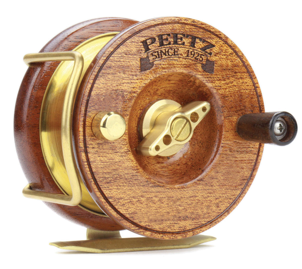 "3"" PEETZ fly fishing reels were developed from the ground up to meet the growing demand from our users for a fly fishing configuration."