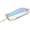 "PEETZ Stryke Zone 7"" Flasher - Moon Jelly with White Glow"