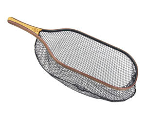 "The ""Brown"" catch and release landing net from Rushton Nets."
