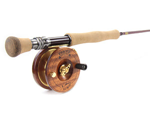 3.5 Inch Fly Fishing Reel with 9ft/4pc/8wt Rod