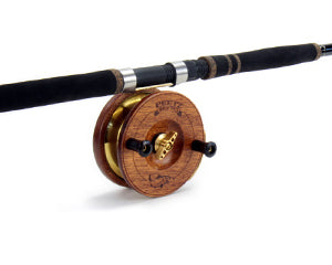 "5 Inch Evolution Fishing Reel with 10'6""/2pc Medium Rod"