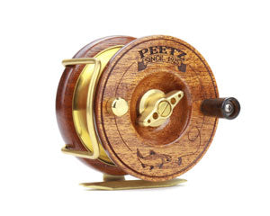 The PEETZ Fly Reel stays true to traditional design.