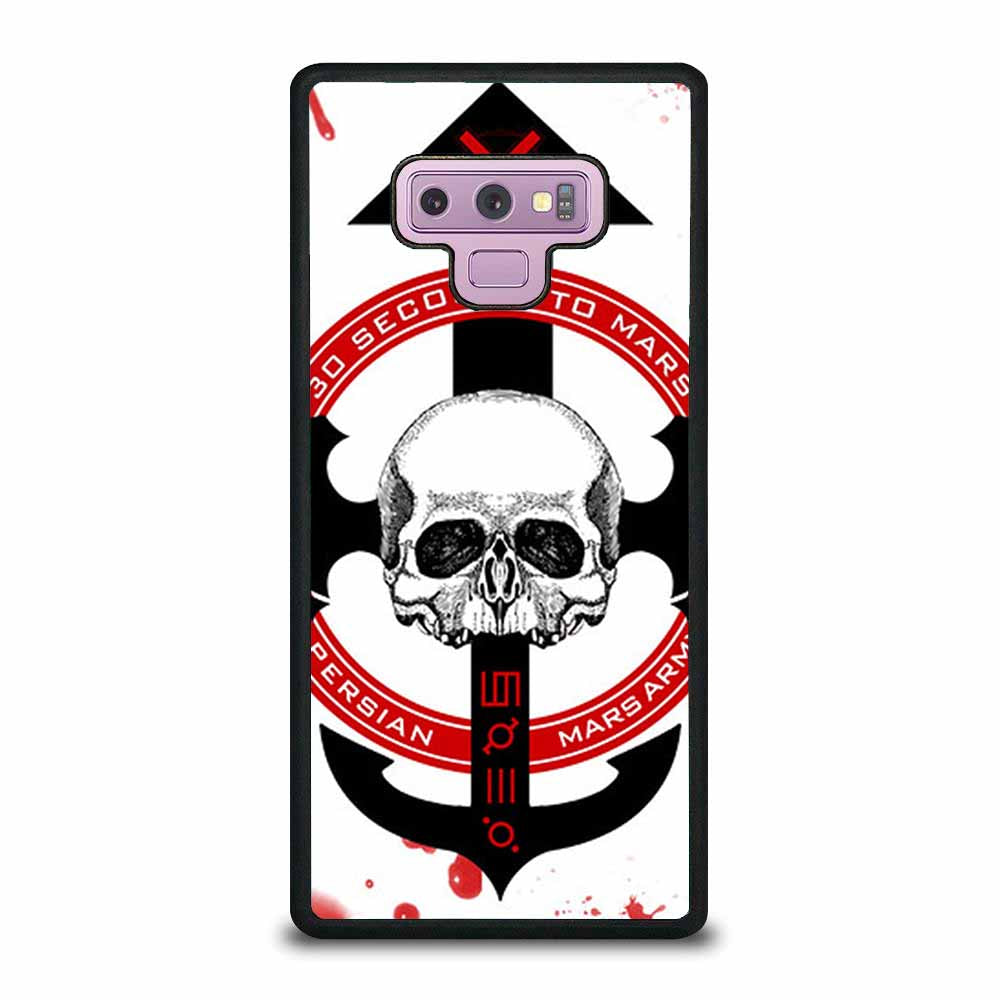 30 SECONDS TO MARS LOGO Samsung Galaxy Note 9 case