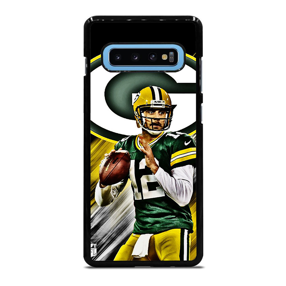 AARON RODGERS PACKERS  1 Samsung Galaxy S10 Plus case