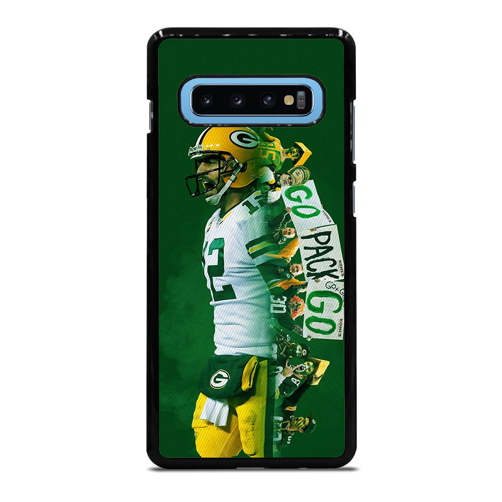 AARON RODGERS PACKERS Samsung Galaxy S10 Plus case