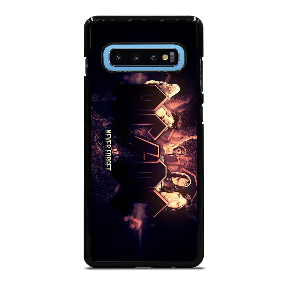 ACDC NEVER FORGET Samsung Galaxy S10 Plus case