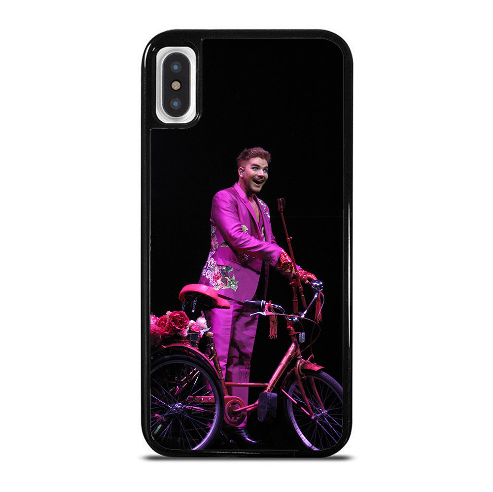 ADAM LAMBERT BIKE iPhone X / XS Case
