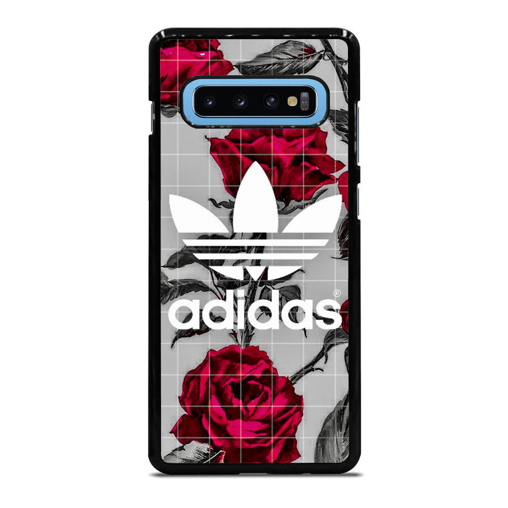 ADIDAS ROSES RED BLACK Samsung Galaxy S10 Plus case