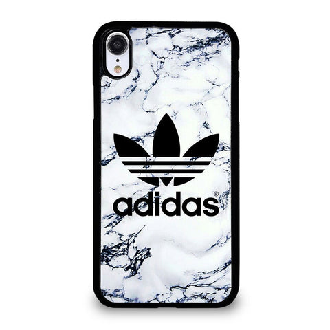 ADIDAS WHITE MARBLE iPhone XR Case