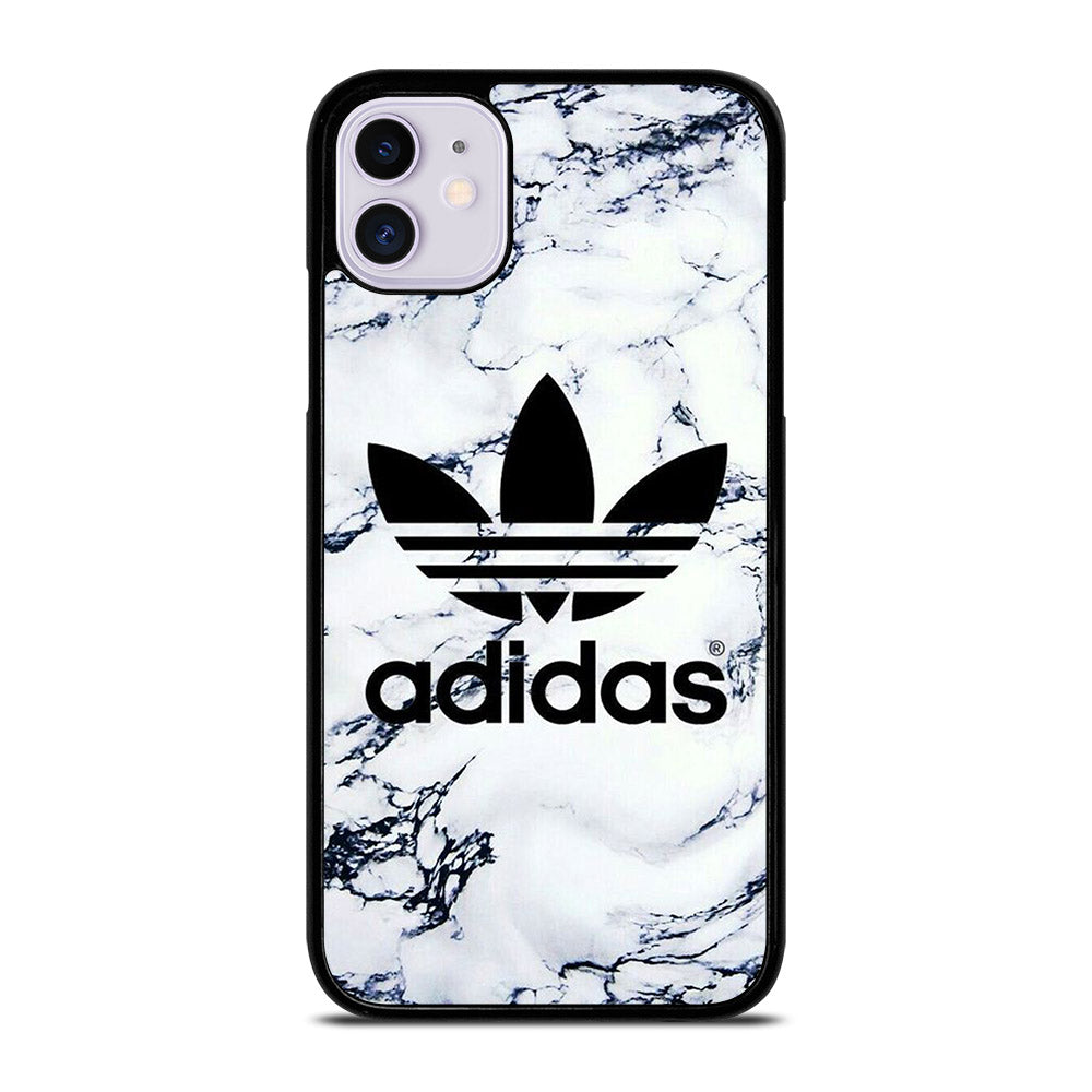 ADIDAS WHITE MARBLE iPhone 11 Case