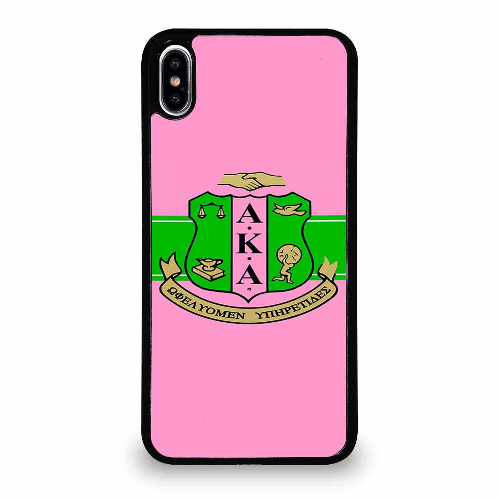 AKA PINK AND GREEN iPhone XS Max Case