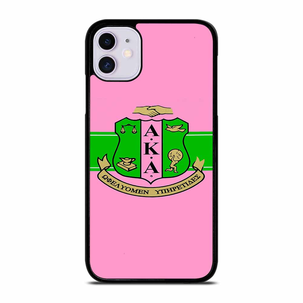 AKA PINK AND GREEN iPhone 11 Case