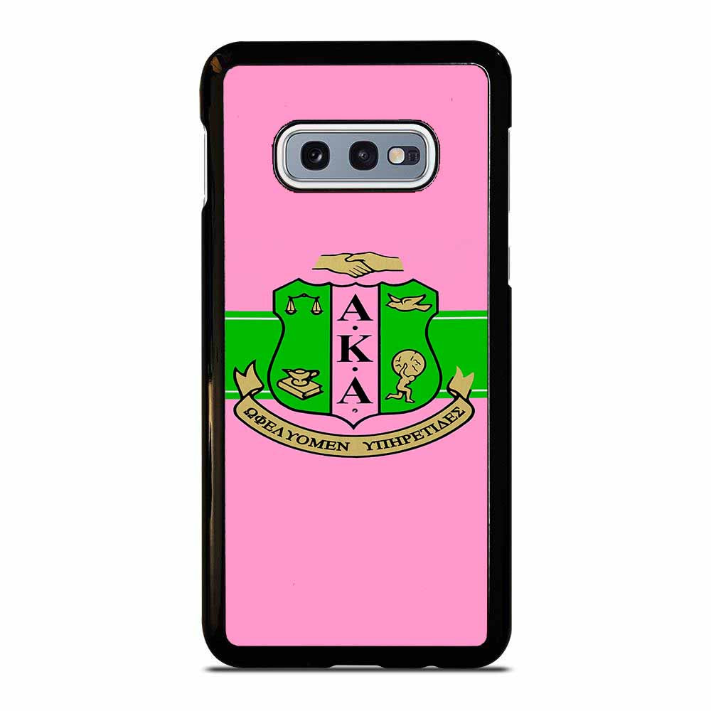 AKA PINK AND GREEN Samsung Galaxy S10E case