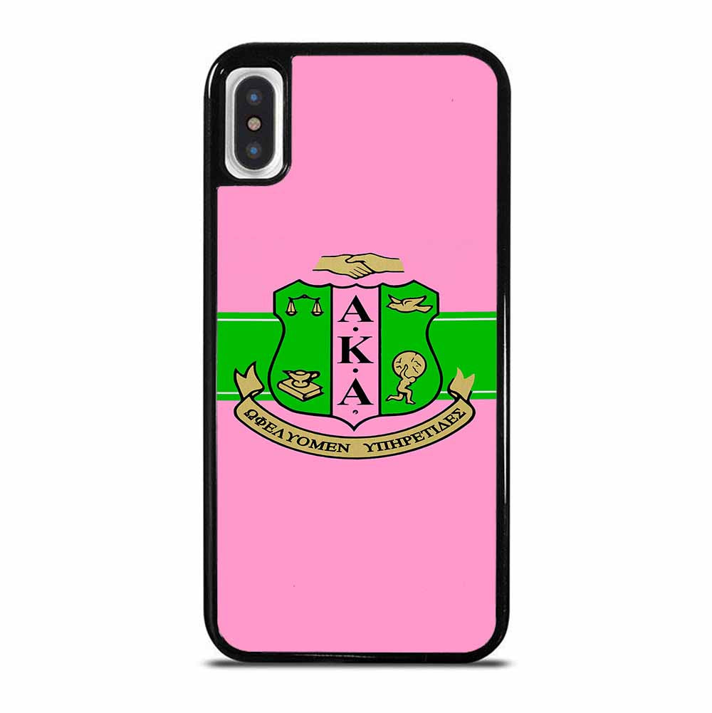 AKA PINK AND GREEN iPhone X / XS Case