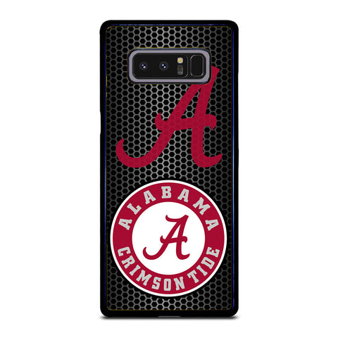 ALABAMA CRIMSON LOGO CARBON Samsung Galaxy Note 8 case