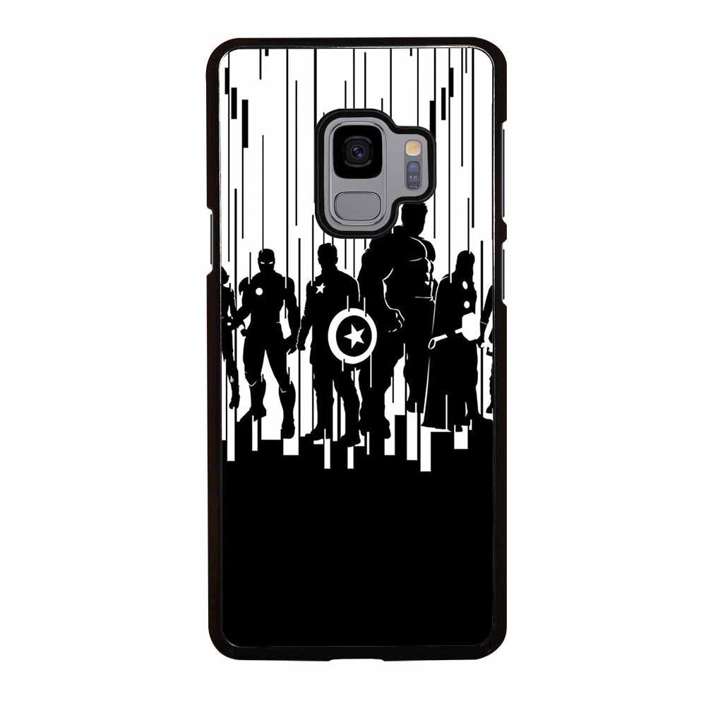 ALL SUPERHERO AVENGER Samsung Galaxy S9 Case