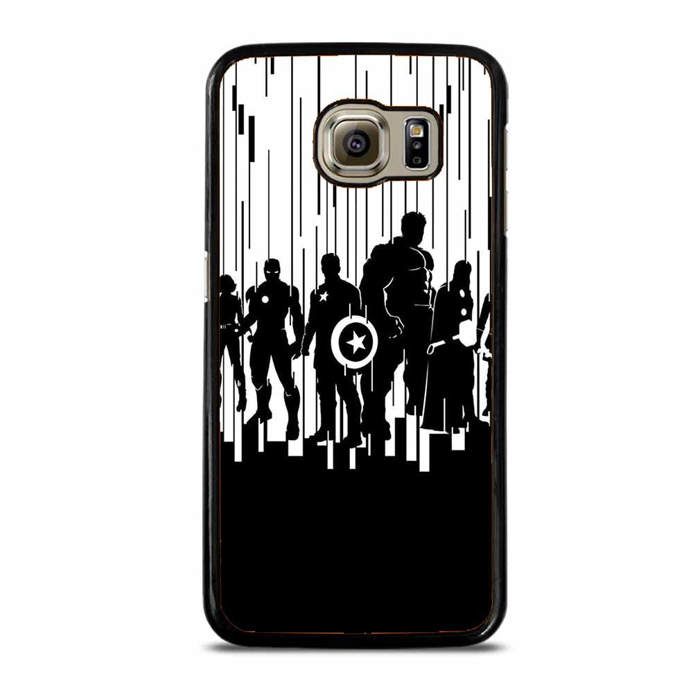 ALL SUPERHERO AVENGER Samsung Galaxy S6 Case