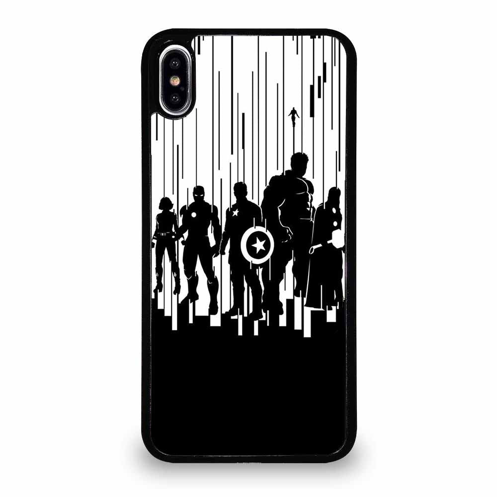ALL SUPERHERO AVENGER iPhone XR Case