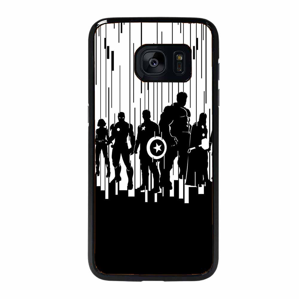 ALL SUPERHERO AVENGER Samsung Galaxy 7 Edge Case