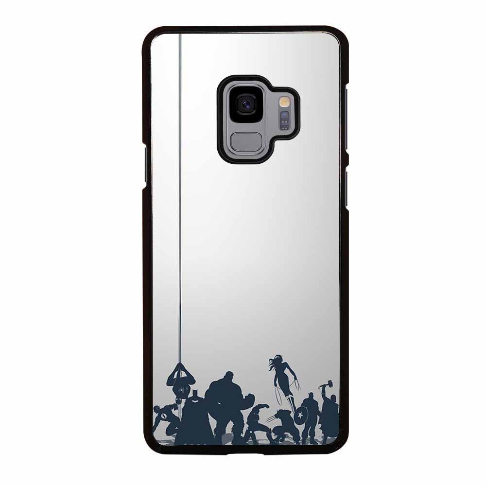 ALL SUPER HERO Samsung Galaxy S9 Case