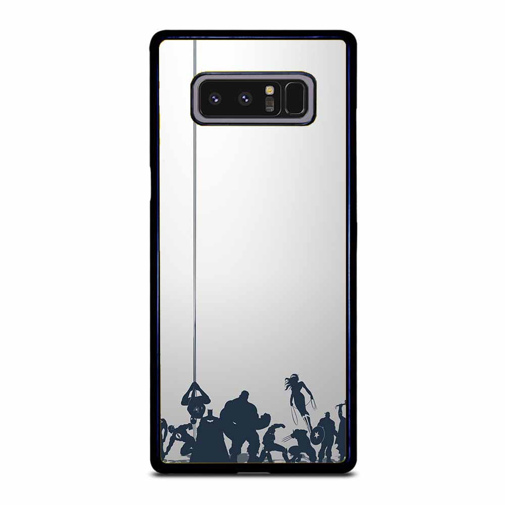 ALL SUPER HERO Samsung Galaxy Note 8 Case