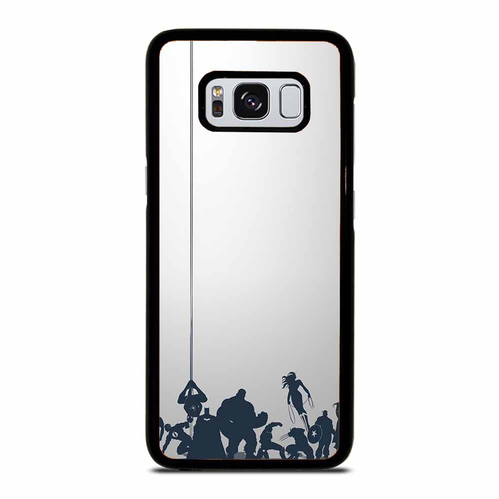 ALL SUPER HERO Samsung Galaxy S8 Case