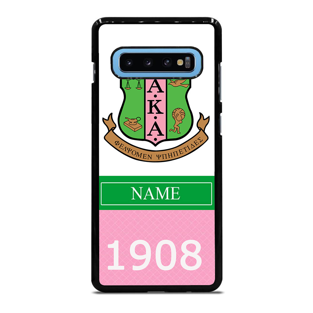 ALPHA KAPPA ALPHA 1908 Samsung Galaxy S10 Plus case