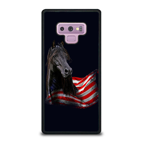 AMERICAN FLAG HORSE Samsung Galaxy Note 9 case