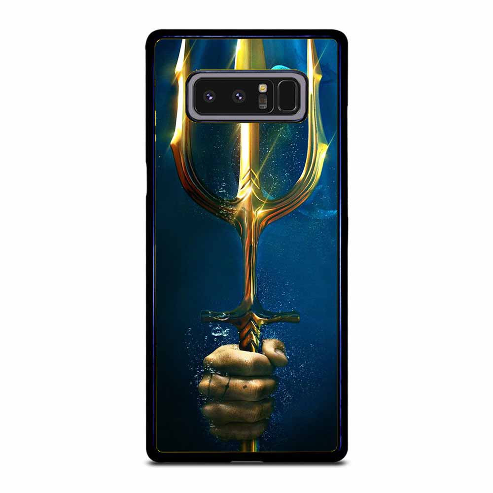 AQUAMAN GOLD TRIDENT Samsung Galaxy Note 8 case