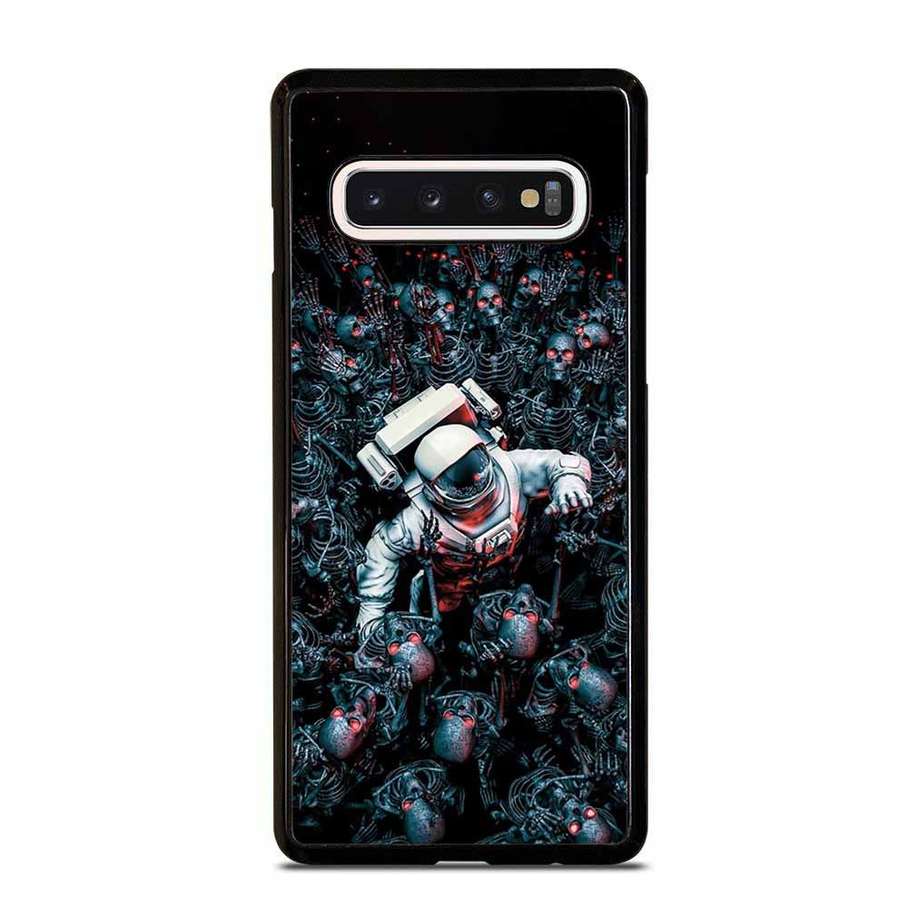 ASTRONOUT VS SKULL Samsung Galaxy S6 S7 Edge S8 S9 S10 Plus 5G S10e Note 8 9 10 Case Samsung Galaxy S6 S7 Edge S8 S9 S10 Plus 5G S10e Note 8 9 10 Case