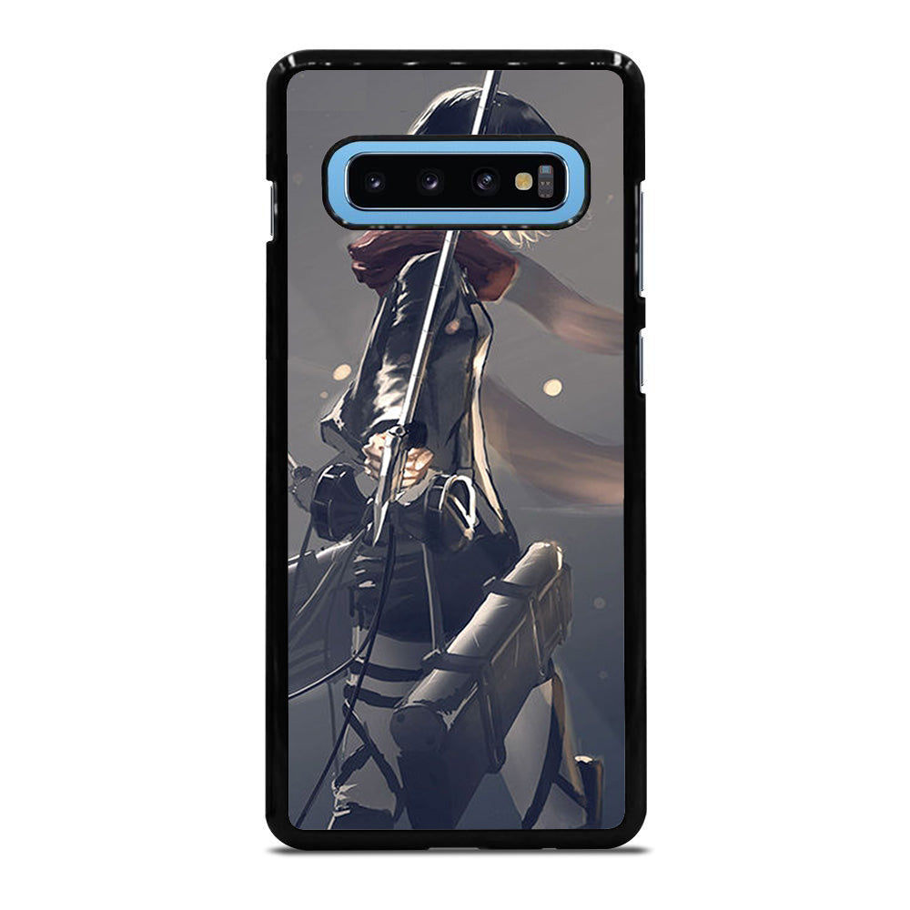 ATTACK ON TITAN MIKASA ACKERMAN Samsung Galaxy S10 Plus case