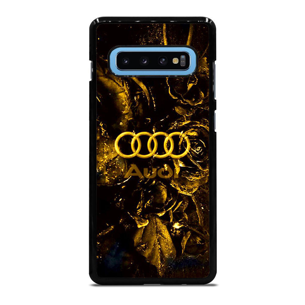 AUDI SPORTS CAR ROSE GOLD LOGO Samsung Galaxy S10 Plus case