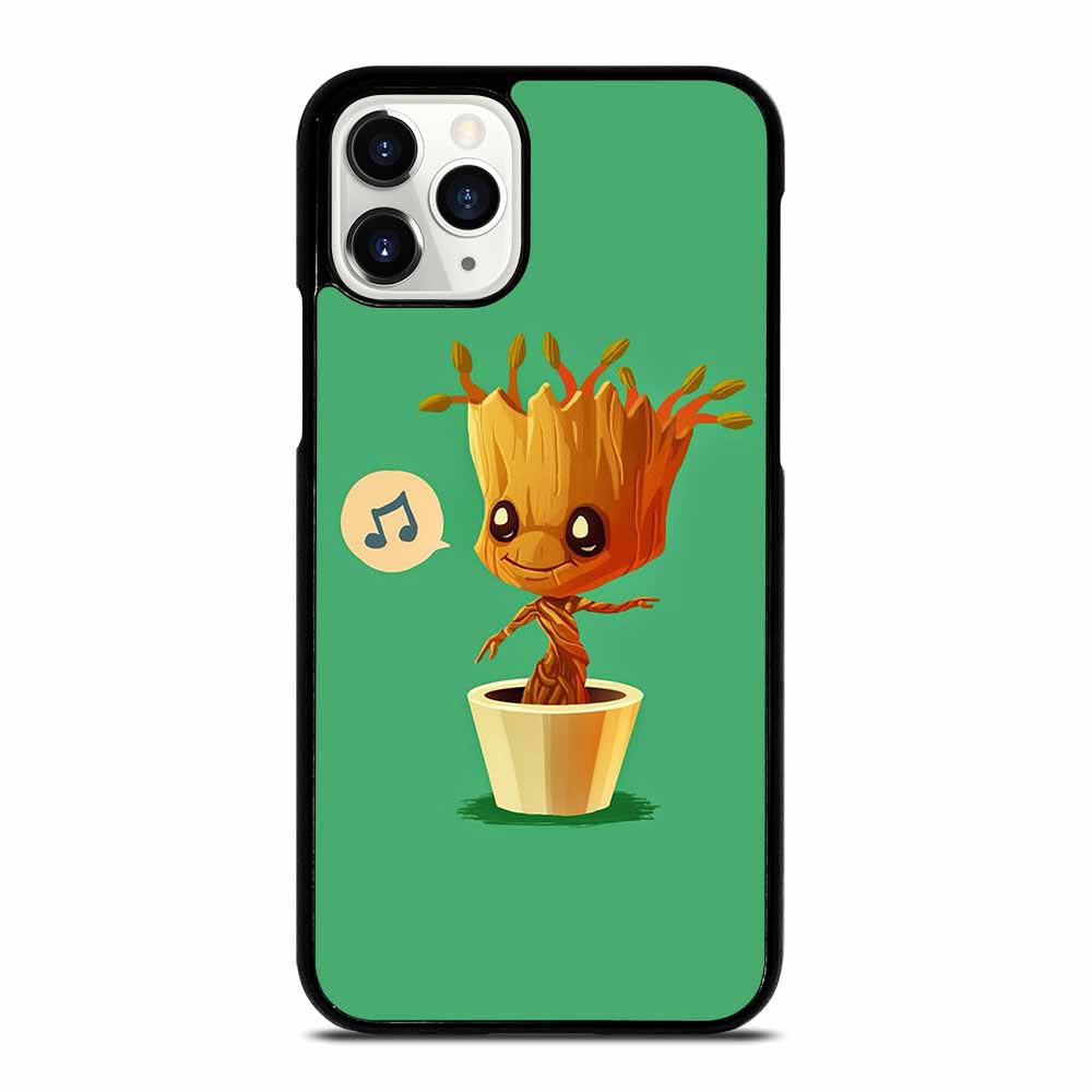 BABY GROOT HUMMING iPhone 11 Pro Case