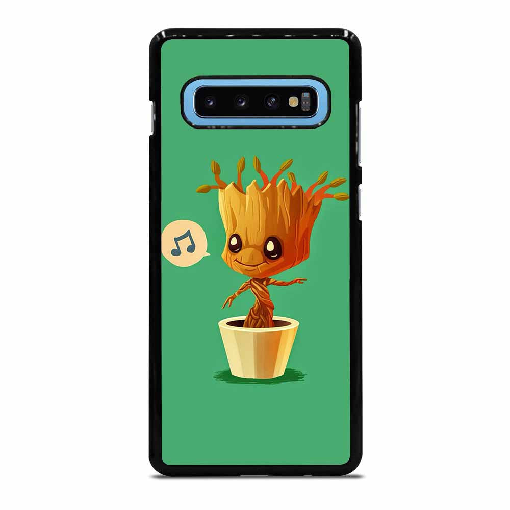BABY GROOT HUMMING Samsung Galaxy S10 Plus case