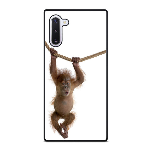 BABY MONKEY ORANGUTAN Samsung Galaxy Note 10 case
