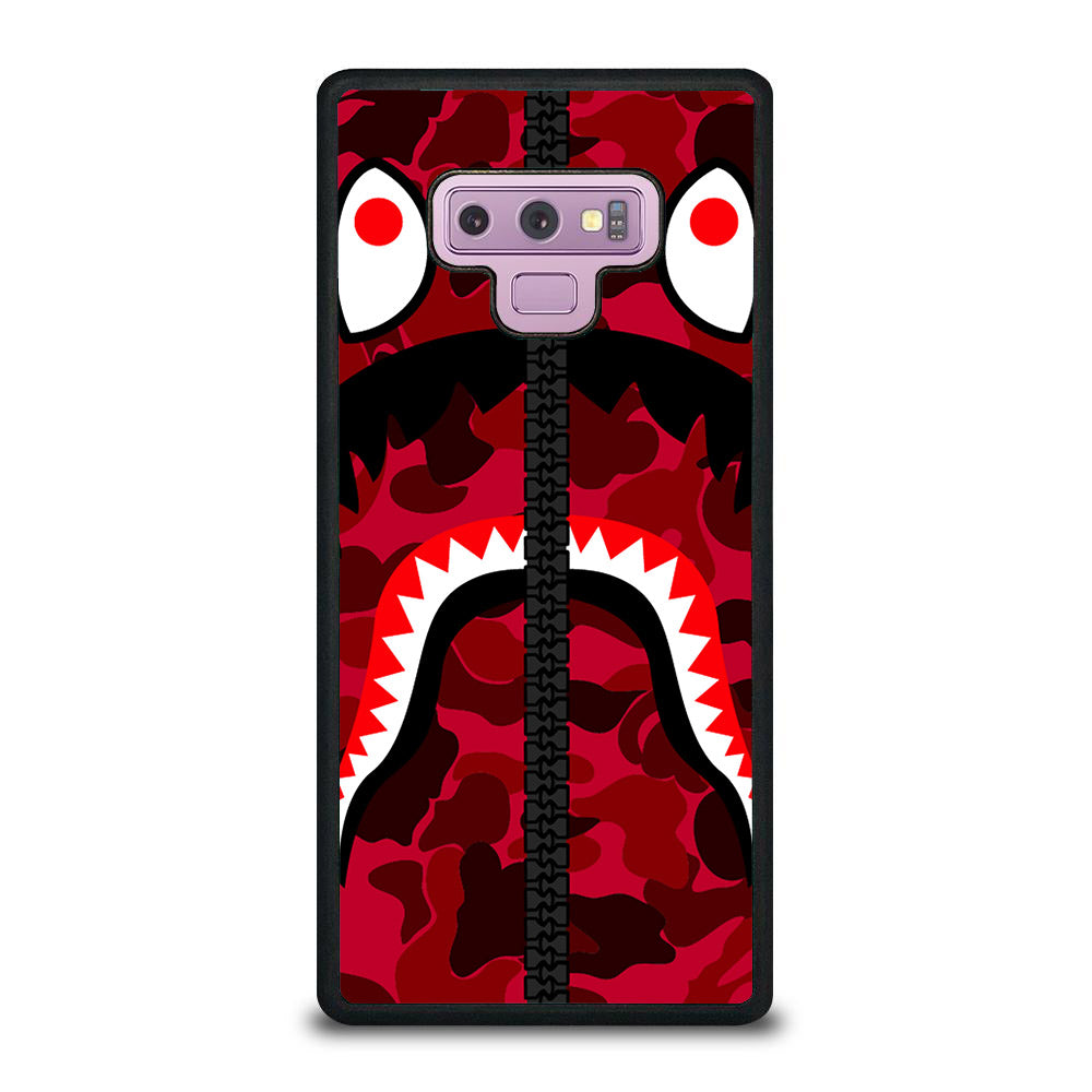 BAPE LOGO RED Samsung Galaxy Note 9 case