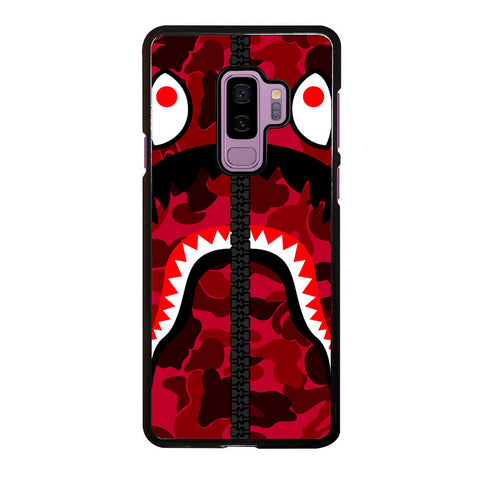 BAPE LOGO RED Samsung Galaxy S9 Plus case