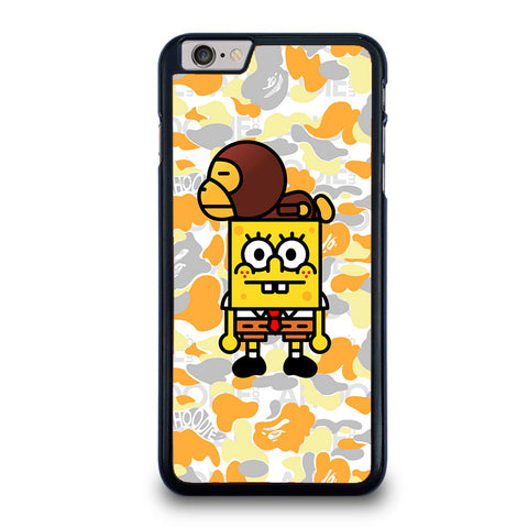 BAPE X SPONGEBOB CARTOON iPhone 6 / 6S Plus case