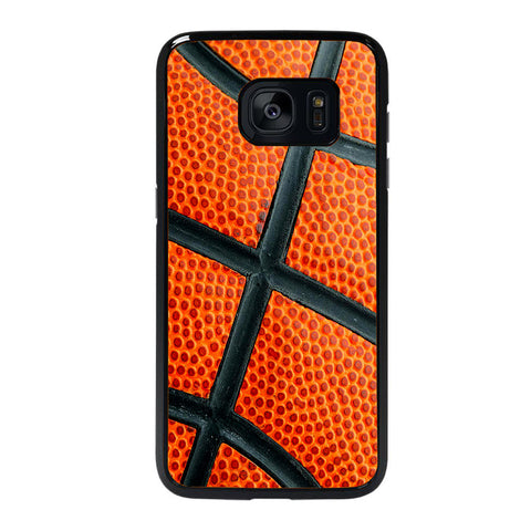 BASKETBALL TEXTURED Samsung Galaxy S7 Edge case