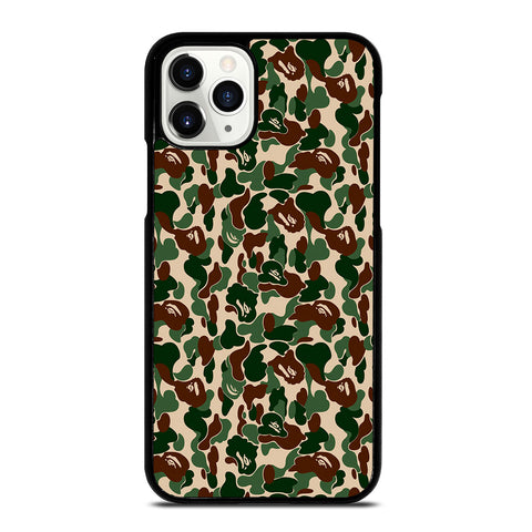 BATHING APE CAMO ART ARMY iPhone 11 Pro Case