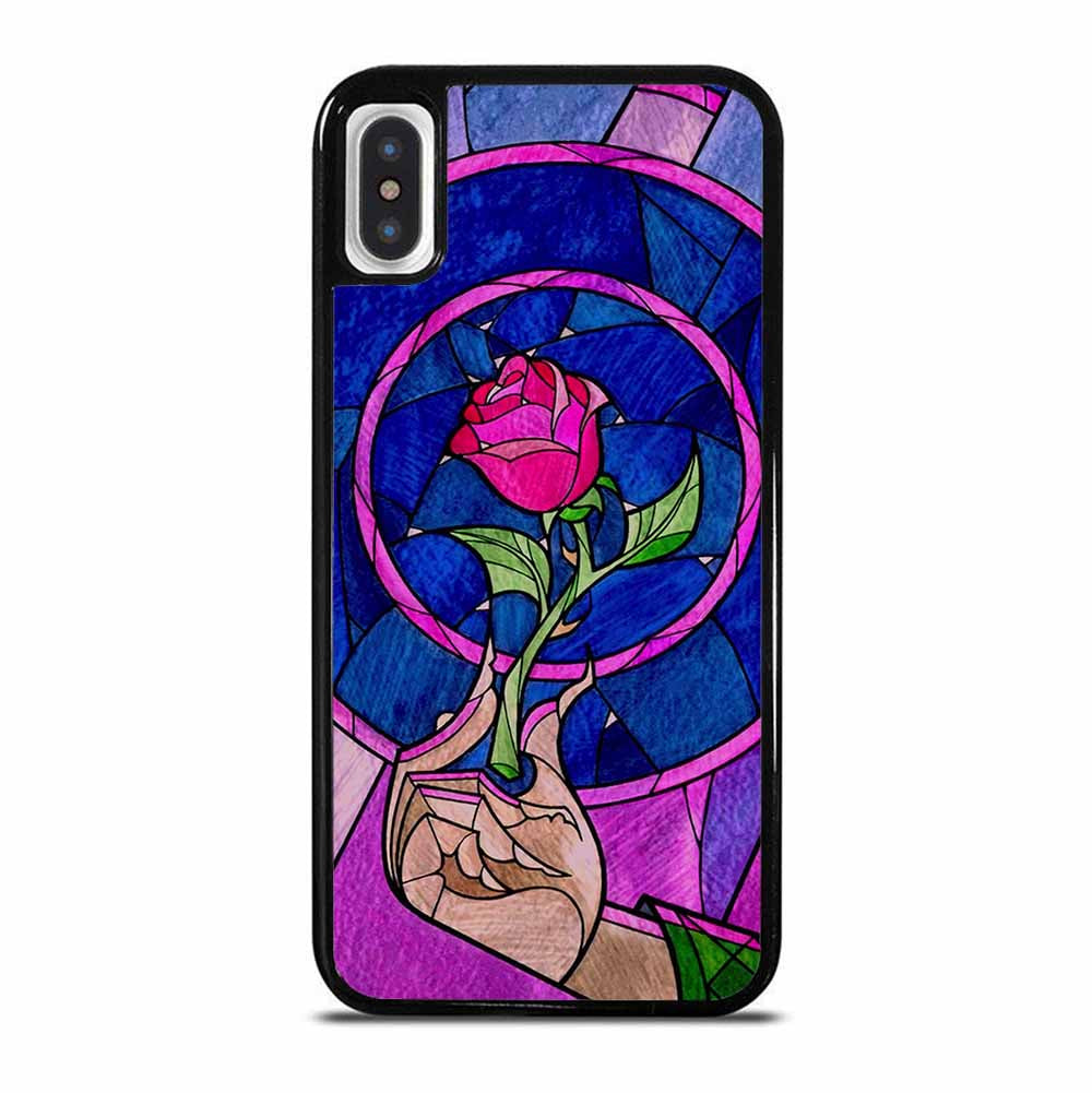 BEAUTY AND THE BEAST ROSE iPhone X / XS Case